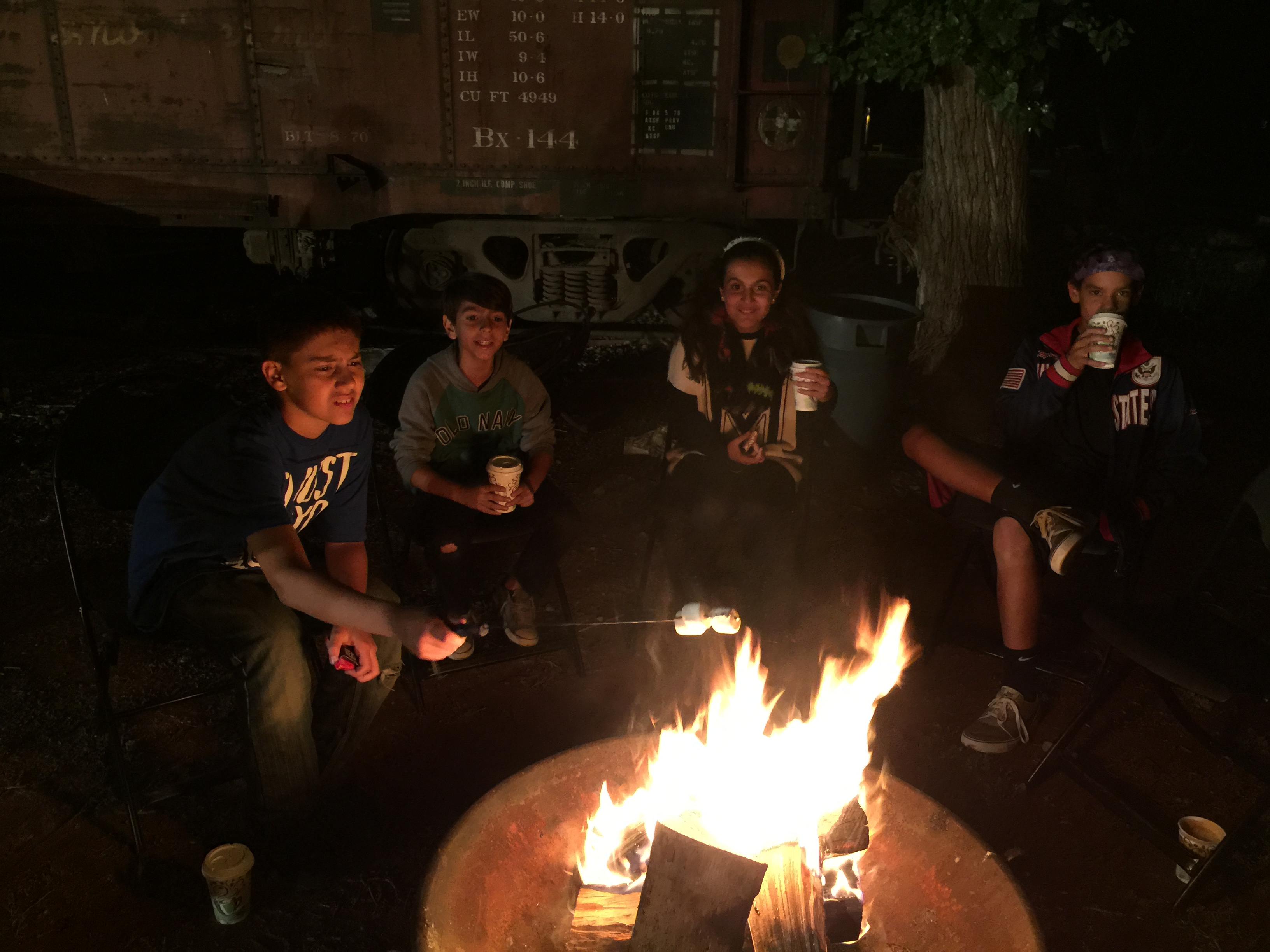 Teen Campout Old Poway Park Community Park