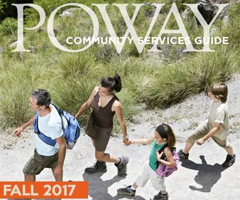 Fall 2017 City of Poway Community Services Guide Classes Camps Programs Events Families Youth Teens