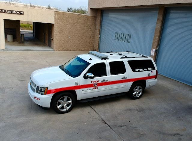Battalion 3703 - 2014 Chevrolet Suburban Command Vehicle