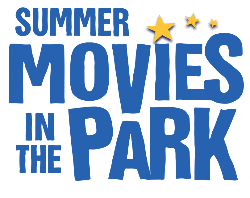 Summer Movies in the Park Series Logo Blue