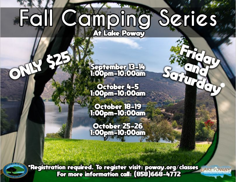 2019 Fall Camping Flyer