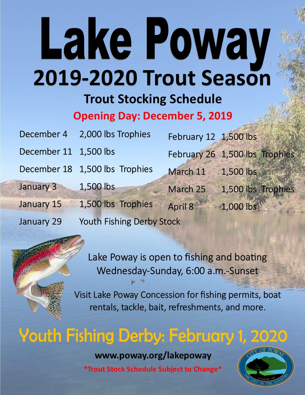 Trout Season Flyer 2019